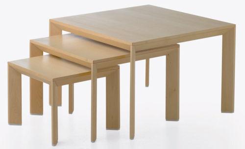 mesa nido contemporánea / de roble / de nogal / de abedul