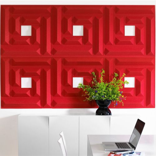 panel acústico de diseño / para oficina