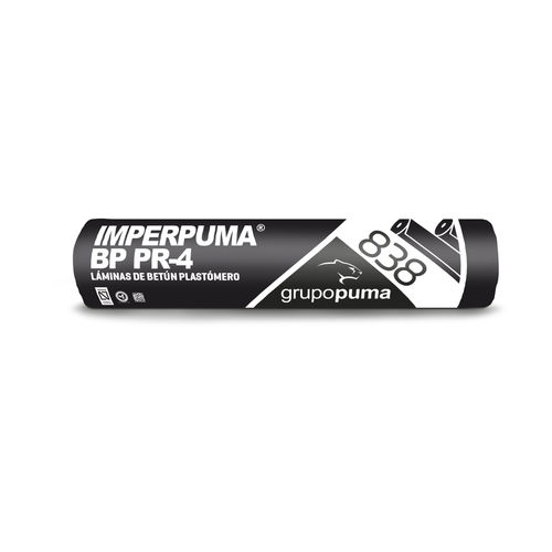 membrana impermeabilizante para muro enterrado / en rollo / bituminosa / de poliéster