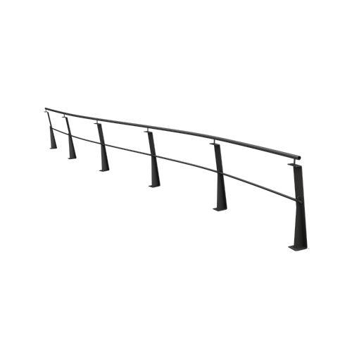 barrera de protección / fija / de acero galvanizado / urbana