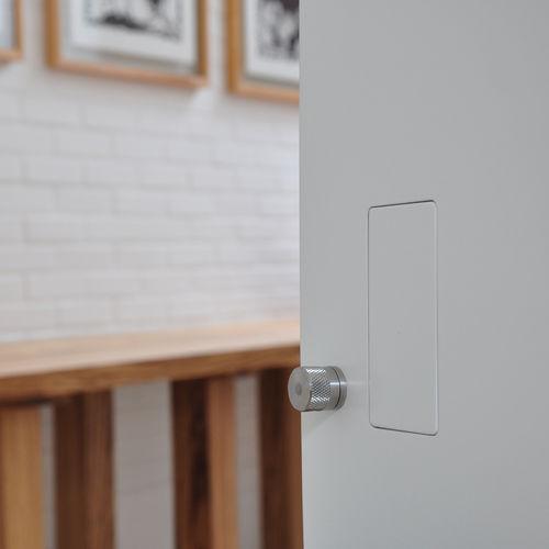 pomo de puerta de diseño minimalista