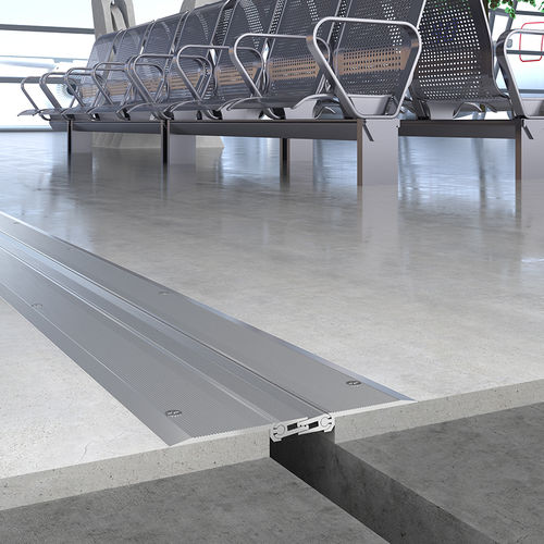 junta de dilatación de aluminio