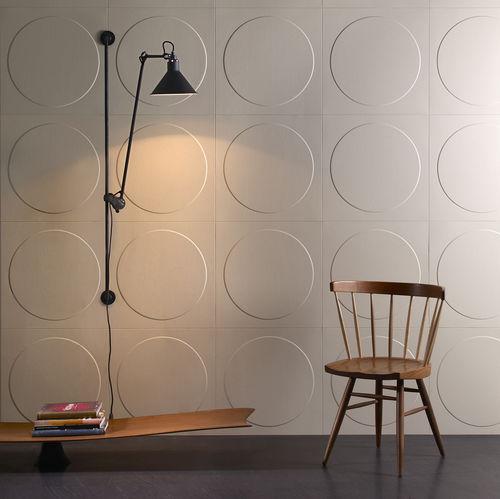 baldosa de interior / de pared / de cuero / 3D