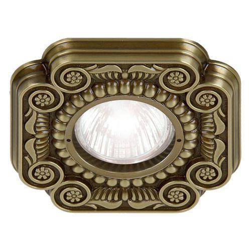 downlight empotrable / LED / otras formas / de latón