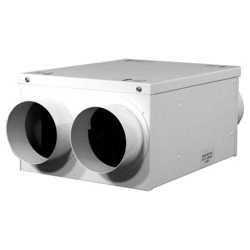 unidad de ventilación de doble flujo / centralizada / residencial / para cuarto de baño