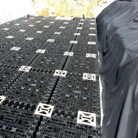 tanque enterrado / de agua de lluvia / de EPDM
