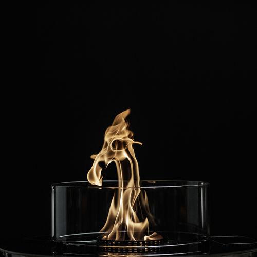 quemador de bioetanol redondo - Glammfire