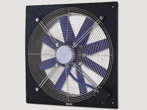 ventilador axial / extractor / canalizable / industrial