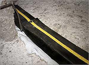 membrana impermeabilizante para drenaje / para juntas de dilatación / tipo cinta / flexible