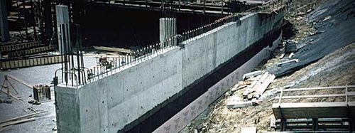 membrana impermeabilizante para drenaje / en rollo / con fibra barrera de vapor / de caucho