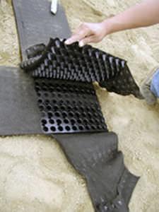 geotextil no tejido / de tejido / para filtración