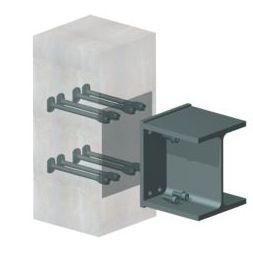 sistema de anclaje de acero / para ingeniería civil / para revestimiento de fachada / para exterior