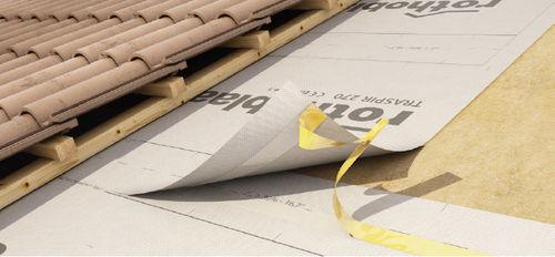 barrera paravientos para techado