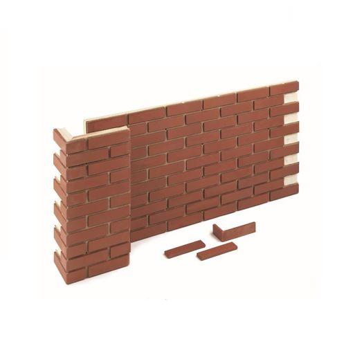 sistema de fachada de arcilla