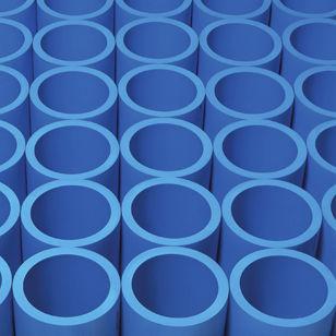 tubo flexible de alimentación