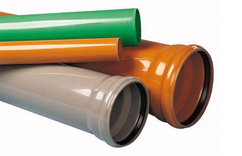 canalización de PVC