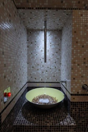 fuente de hielo para centro de spa
