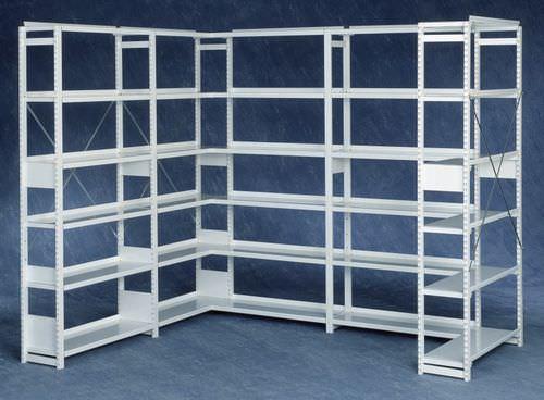 estantería profesional para almacenamiento / de mercancías / estándar / de acero