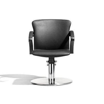 sillón de peluquería de tejido