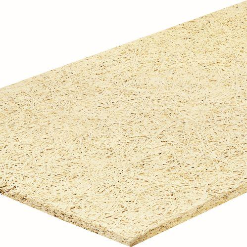 aislante termoacústico / de lana de madera / para pavimento / tipo panel