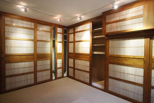 puerta de interior / para armario / para vestidor / corredera