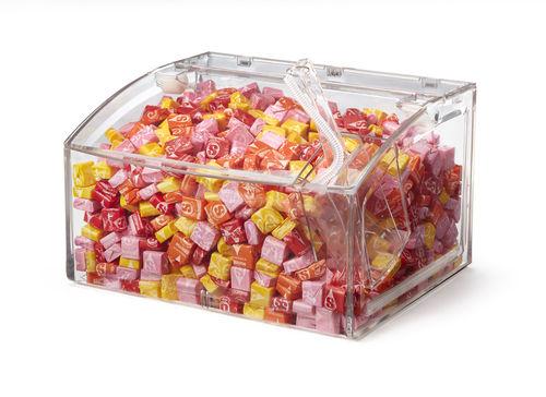 dispensador de caramelos en encimera