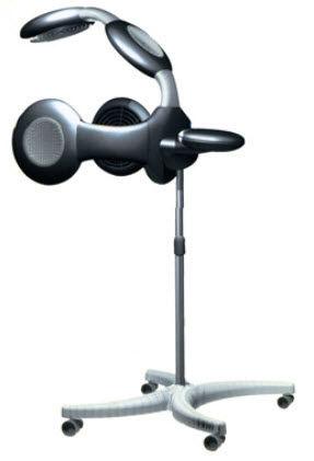 casco secador infrarrojos / para peluquería
