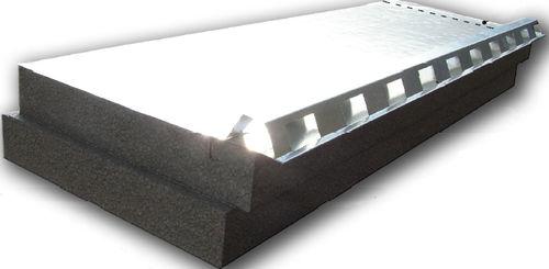 aislante térmico / de poliestireno expandido / para techado / tipo panel rígido
