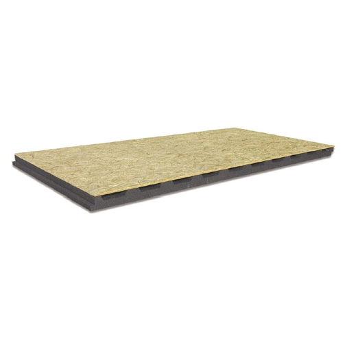 aislante térmico / de poliestireno expandido / para tejado ventilado / tipo panel rígido
