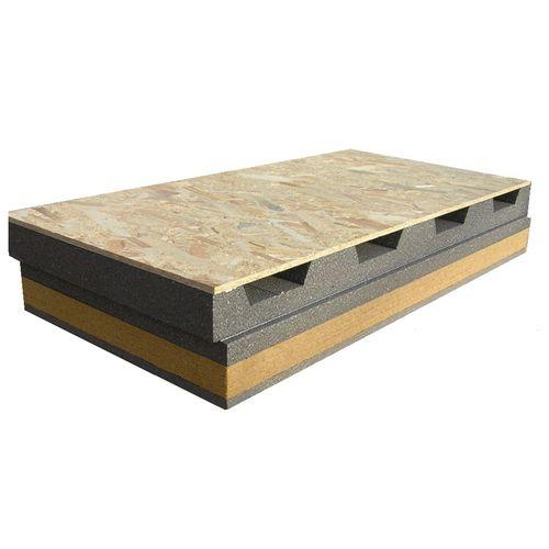 panel para techo terraza con aislante integrado