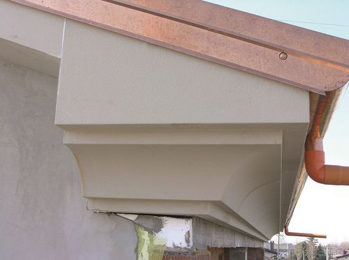 cornisa para techado