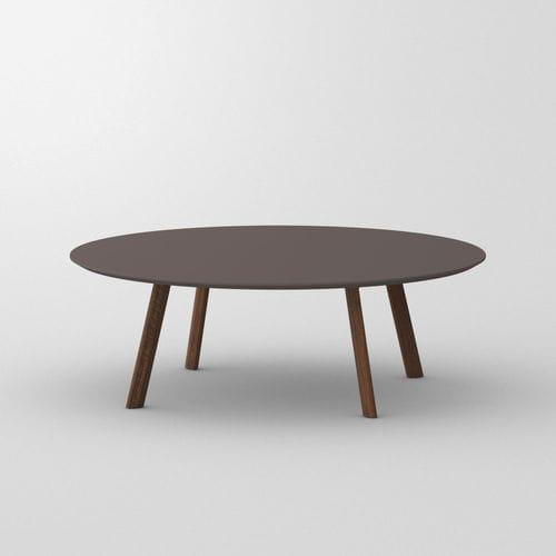 mesa de centro de diseño / de haya / de roble / de nogal