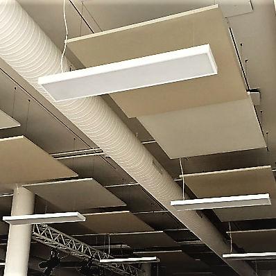 panel de absorción acústica para interiores