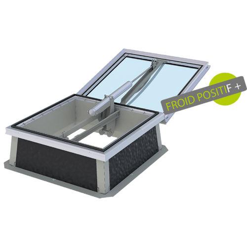 trampilla de ventilación de metal