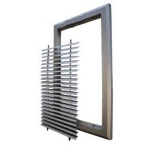 rejilla de ventilación de aluminio / cuadrada