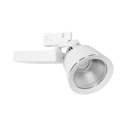 iluminación sobre riel LED