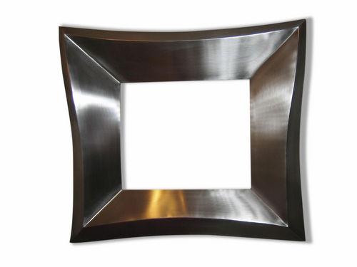 espejo de pared / suspendido / contemporáneo / rectangular