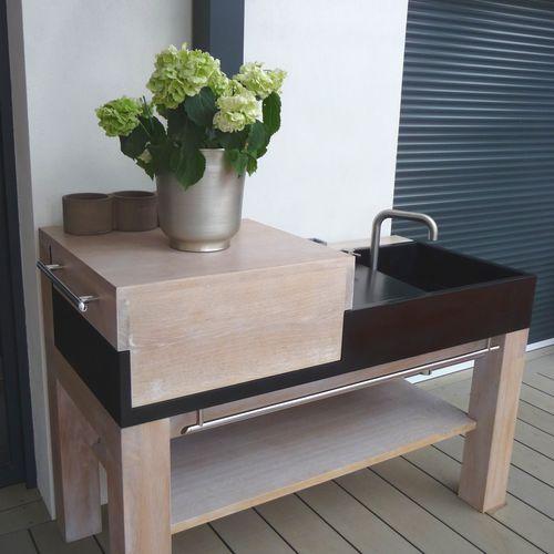 mueble para fregadero para jardín