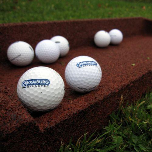 pavimento deportivo de caucho / para exterior / para campo de golf