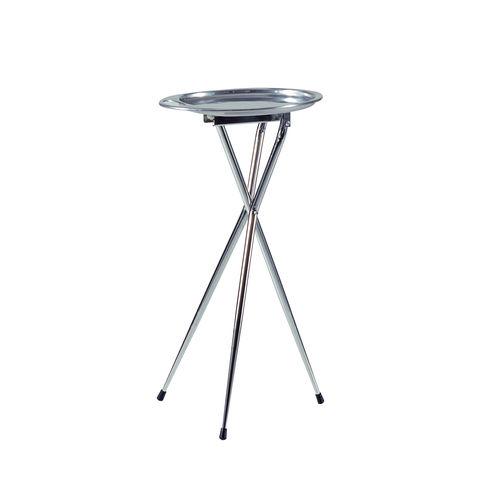 mesa carrito para cuidados / para peluquería / de metal