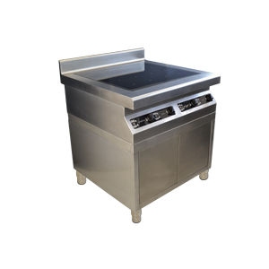 cocina con horno de vitrocerámica