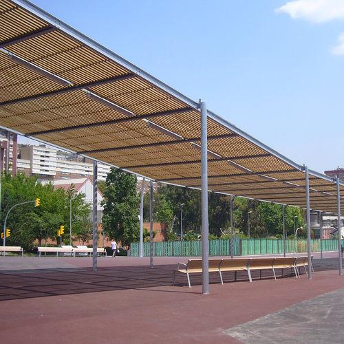 pérgola autoportante - URBADIS by Microarquitectura