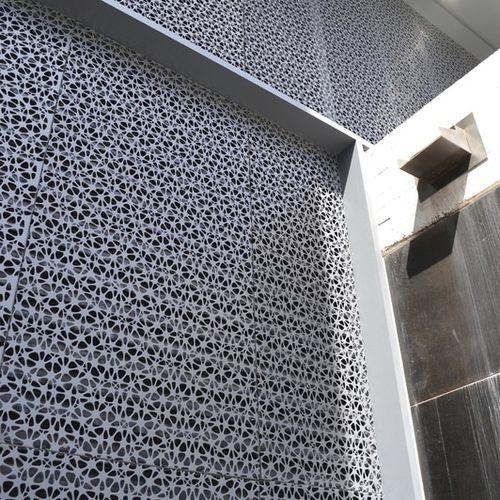 panel decorativo multicapa / de aluminio / de acero inoxidable / de acero