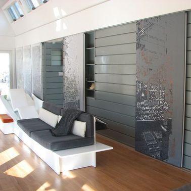 panel decorativo de metal / de pared / sostenible