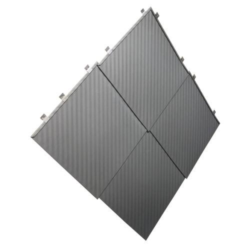 plaqueta de fachaleta de metal / decorativa