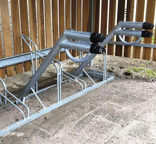 estación de recarga para bicicleta eléctrica