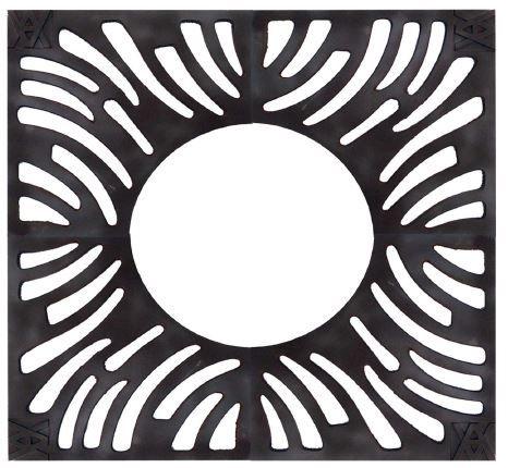 cubrealcorques de hierro fundido / cuadrado