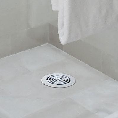 desagüe de ducha de acero inoxidable