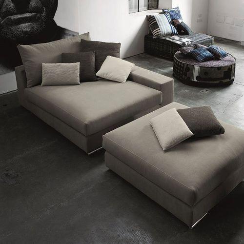 diván moderno / de tejido / de cuero / modular