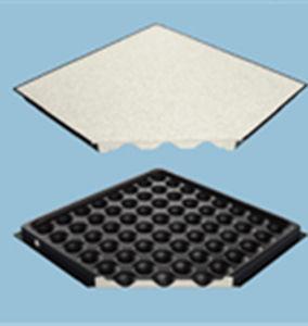 suelo técnico de hormigón / de acero / de interior / perforado
